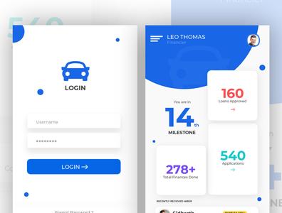 Vehicle Finance App (Financier Scenario)