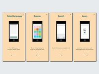 Wanderwords Onboarding Screens