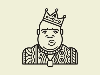 Biggie Smalls on Hip Hop Illies