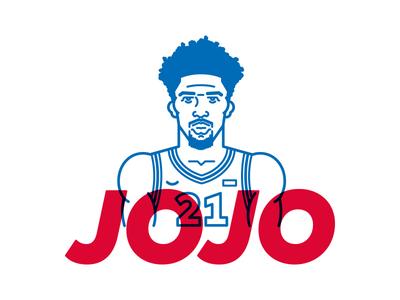 """Joel """"Jojo"""" Embiid"""