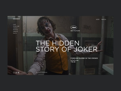 Joker: about the film