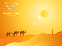 Opening SHOT - Desert Illustration