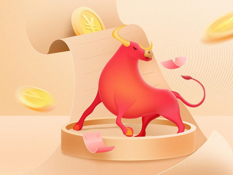 Bull market 设计 插图