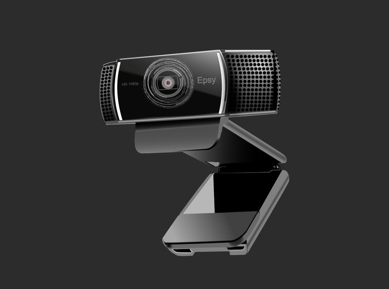 Webcam illustration vector illustration affinity designer