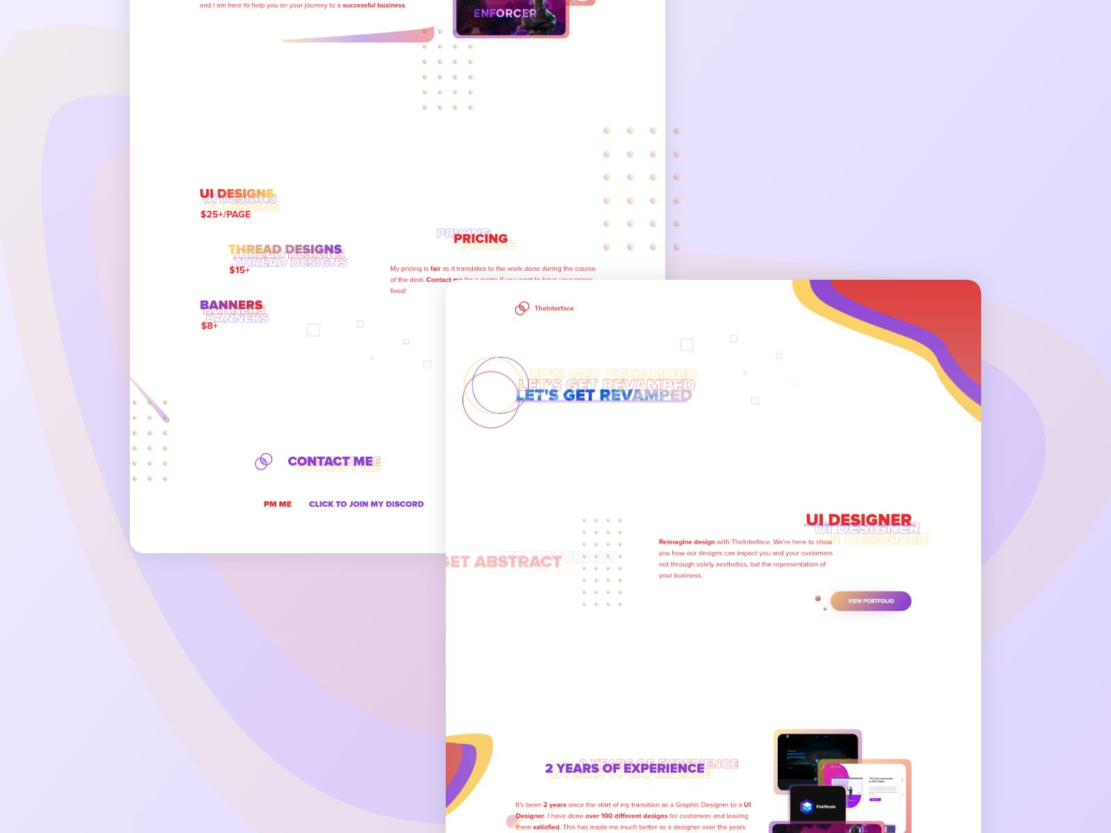 TheInterface Revamped Web Design