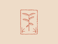 Palm Tree Badge