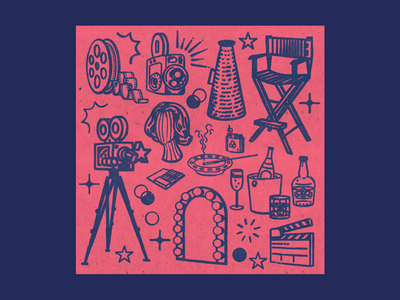 Film artists sequence intro illustration freelance designer graphics vlog content youtube film