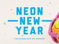 U&R Neon New Year