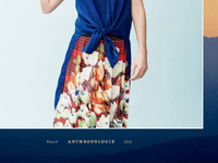 Anthropologie Catalog March 2012