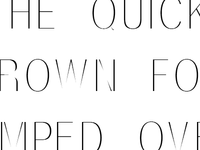 New Typeface - Smee