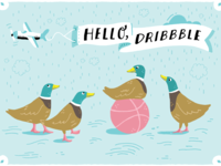 Dribbble Ducks
