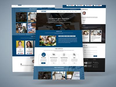 Corporate Web Template