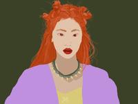 Orange Hair :)