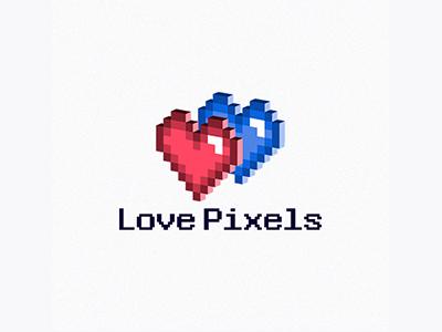 Love Pixels logo
