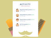 Activity | Daily UI #047