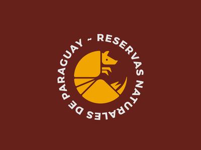 Reservas Naturales de Paraguay | Armadillo logo