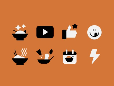 Icon for food website