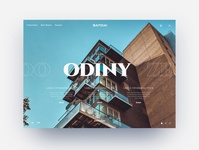 Web Layout and Typography Experiment typography luxury ui website
