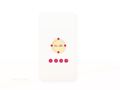 Daily UI 014 ~ Countdown Timer