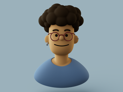 Avatar Perso 3d illustration illustration avatar redshift character render cinema 4d c4d 3d