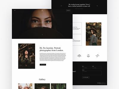 Jasmine - Photography Webflow template webflow template webflow template ui web web design
