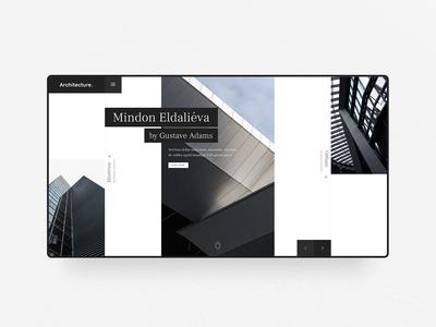 Architecture Web Design Concept