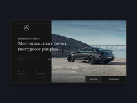 Mercedes Benz Web Design Concept
