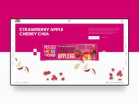 Kind Snacks Web Design Concept