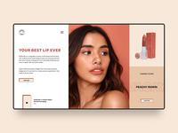 Sunnies Face Web Design Concept