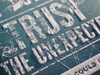 The Creative Manifesto 2014 Letterpress Calendar