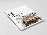 Exploration of the Walter magazine cover