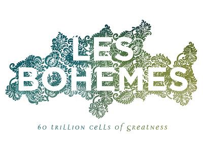 Les Bohemes logo v2 identity logo