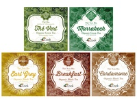 Arcadie Tea packaging