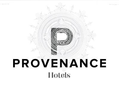 Provenance identity . logotype v2 identity logo