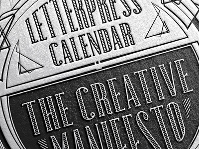 The 2016 letterpress calendar is coming calendar letterpress