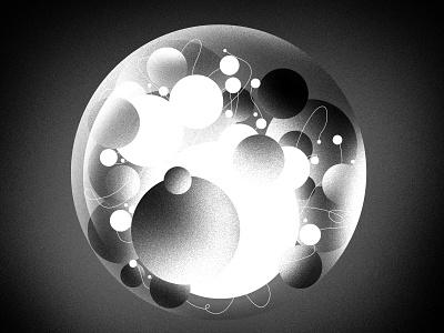 Life styleframe balls grain noise design illustration peter other motion life