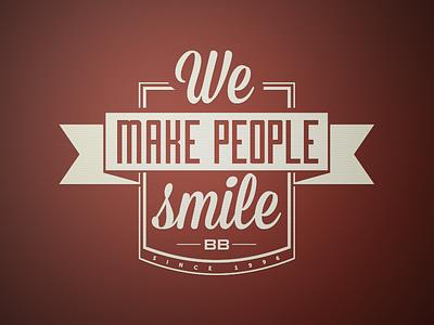 We make People Smile logo icon