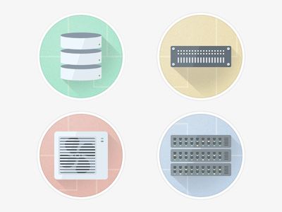 data center icons icons flat hardware data center server router switch database air conditioning fan