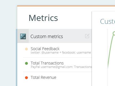 Analytics App ui app application web dashboard tabs clean data user interface