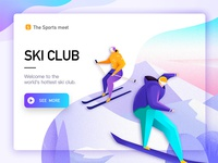 ski illustration