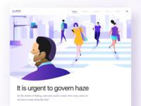 Web pages about haze