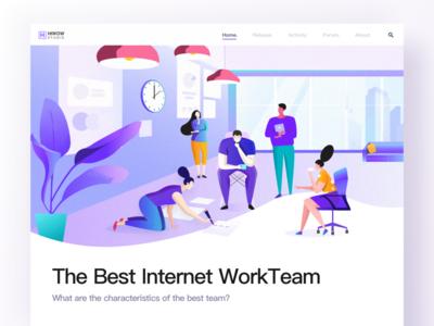 The best internet team