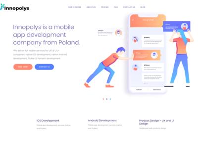 Website header - innopolys