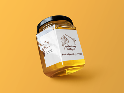 Honey Jar packaging design branding