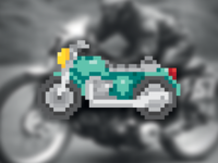 Motorbike Pixel 🏍