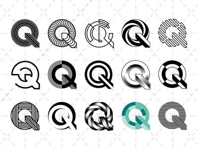 Q Lettering ⎜ Typography