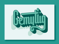 Gemytlig Typography 🦌