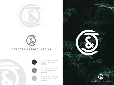 Des Copains & Des Jardins ⎜ Logo