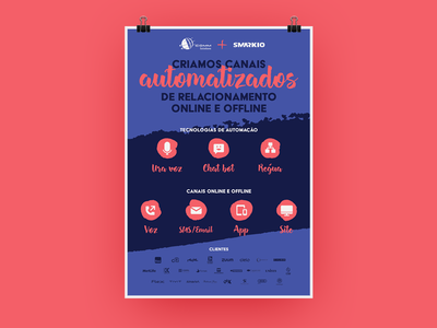 Canais Automatizados - Poster sms email chat automated poster
