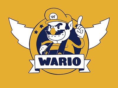 Wario the Treasurehog retro gaming super videogames sonic nintendo wario mario